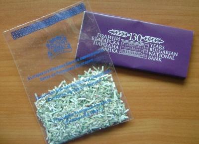 Шоколад и конфети от банкноти