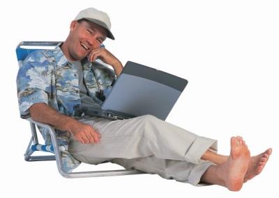 блогър на почивка