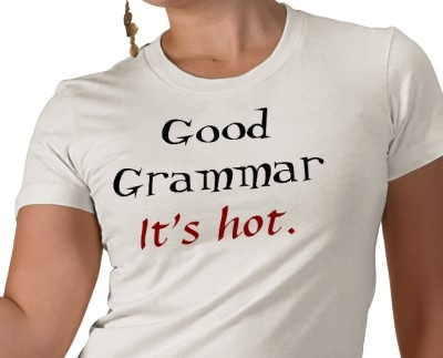 good grammar is hot