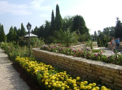 Балчик - ботаническата градина