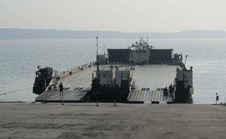 Фериботът Оряхово-Бекет