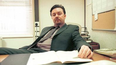 Мениджър в своя офис