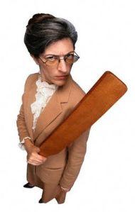 Учителката с пръчката