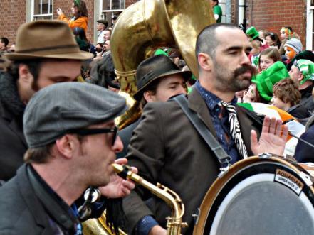 Ирландия, денят на Св. Патрик