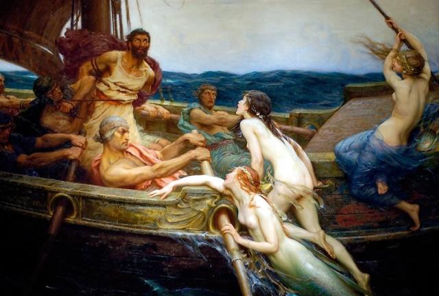 Одисей и сирените