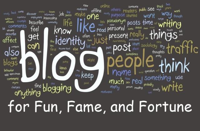 Блогърска слава
